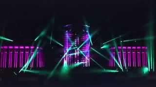 Световое шоу к открытию фестиваля искусств на ВДНХ (рабочее видео)