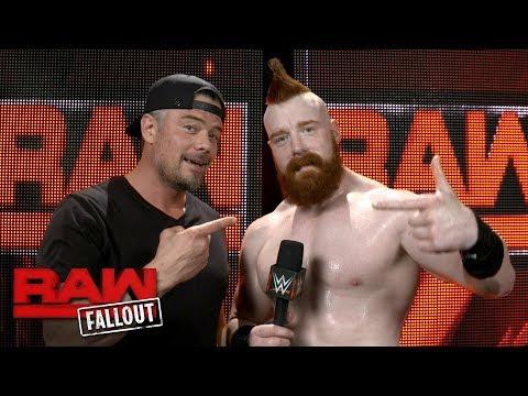 Sheamus interrupts Josh Duhamel's : Raw Fallout, June 26, 2017