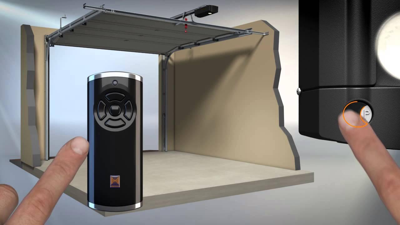 Antrieb SupraMatic einlernen und HS5 BS anmelden - YouTube  Antrieb SupraMa...