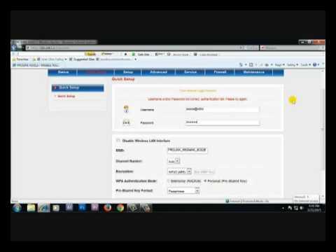 Pro Link Router Configuration