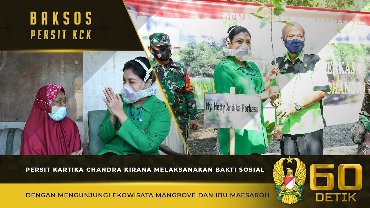 Persit KCK Melaksanakan Bakti Sosial dengan Mengunjungi Ekowisata Mangrove dan Ibu Maesaroh