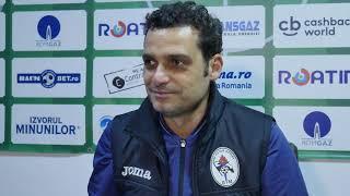Mihai Teja dupa Gaz Voluntari 2-0 | novatv.ro