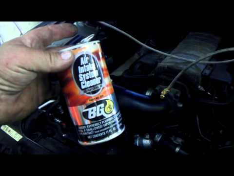 Fuel System Cleaning >> BG Fuel Injector Induction System Cleaning - Z-Mech Auto - Raleigh Auto Repair Shop - YouTube