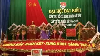 Văn nghệ chào mừng đại hội đại biểu Đoàn TNCSHCM huyện Sơn Tây,  Quảng Ngãi