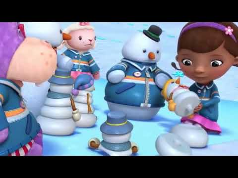 Doc McStuffins Toy Hospital Chilly's Snow Globe Shakeup Hoarse Hallie