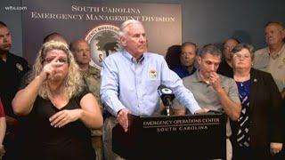 South Carolina Gov. Henry McMaster Updates State's Response to Hurricane Florence