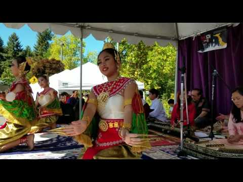 Seattle Thai Festival—Traditional Dance & Music, Part 1