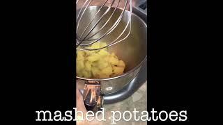 Mashed potatoes. Final step.