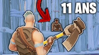 I'm a SCAMONON ON WORLD SAUVER FORTNITE! #8 (HE'S CRYING)