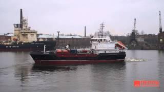 Cудно комплексного портового обслуживания ВТН-73 проекта 03180 на базе проекта СКПО-1000(Успешно завершены заводские ходовые испытания многофункционального судна комплексного портового обслужи..., 2014-11-12T20:42:03.000Z)