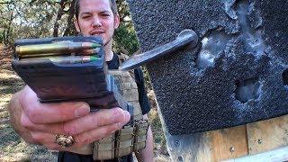 90 бронебойных против стандартной бронепластины | Разрушительное ранчо | Перевод Zёбры
