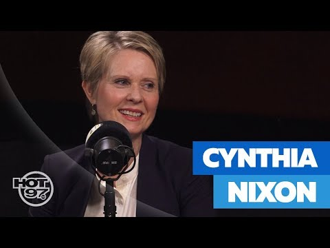 Cynthia Nixon On Legalizing Marijuana, Abolishing ICE, Challenging Gov. Cuomo & Socialism