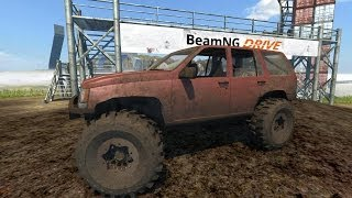 BeamNG Drive Jeep Grand Cherokee Trail Ready Crash Testing #34 #Insanegaz #BeamNG