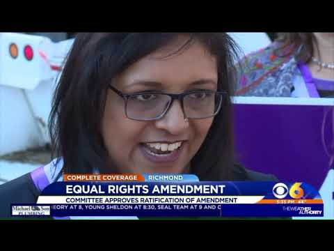 Committee approves ratification of Equal Rights Amendment