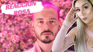 "REACCION"" J BALVIN- ROSA (video oficial)"