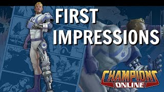 Champions Online First Impressions | Tutorial Gameplay
