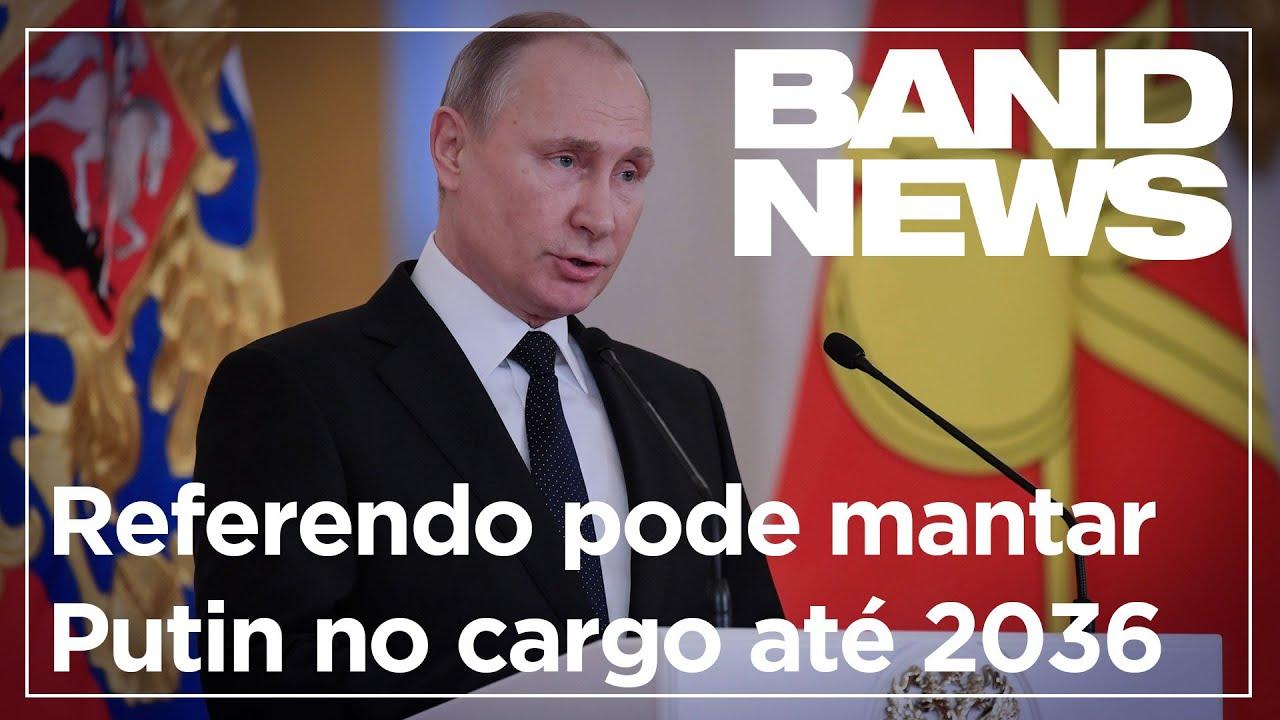 Referendo pode manter Vladimir Putin no cargo até 2036