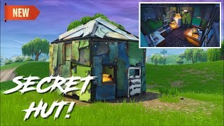 SECRET METAL HUT! (3 CHESTS!) Fortnite Battle Royale