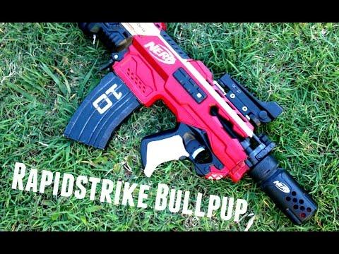 nerf rapidstrike bullpup ultimate 130 sized rs bullpup youtube
