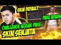 SULTAN FF CHALLENGE MAIN NGGAK PAKE SKIN SENJATA AUTO GELI!! - FREE FIRE INDONESIA