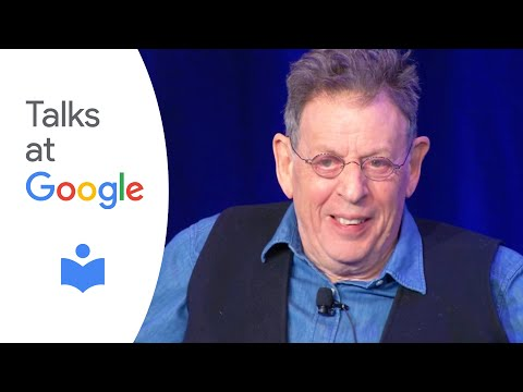 """Philip Glass: """"Words Without Music""""   Authors at Google"""
