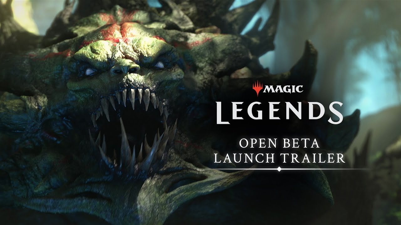 Magic: Legends PC open beta kicks off today today