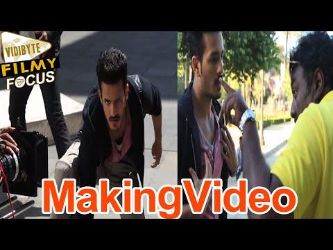 Akhil Akkineni Movie Making Video  ||  Spain Schedule