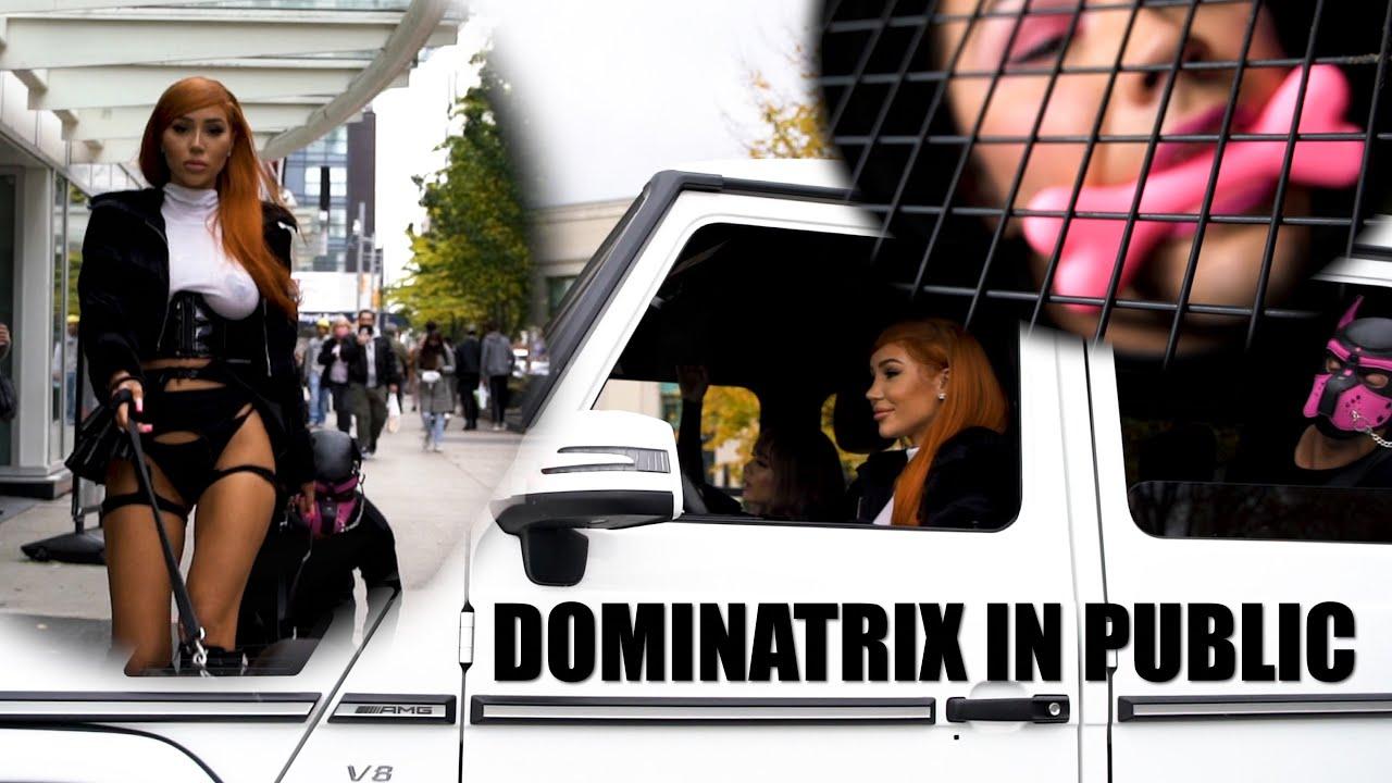 Dominatrix In Public