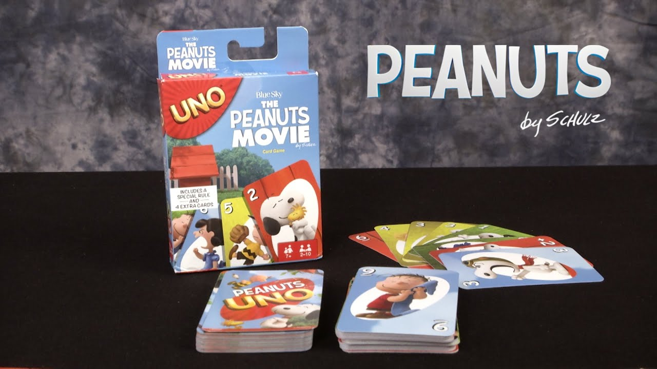The Peanuts Movie UNO from Mattel - YouTube