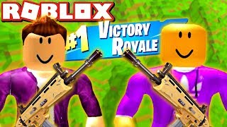 VITAMINE AND CENTEX PLAY FORTNITE IN ROBLOX!