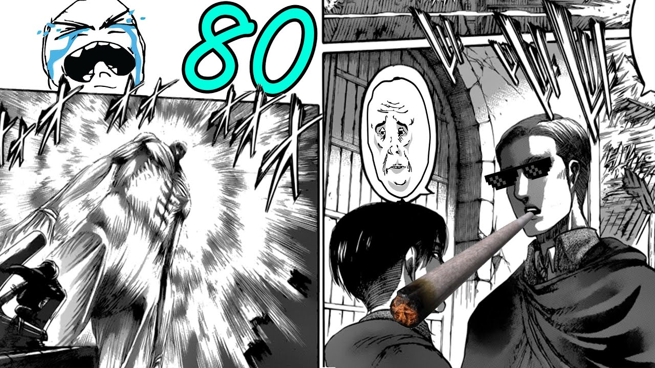 Attack on Titan Manga Chapter 80 Review - Sacrifice - YouTube