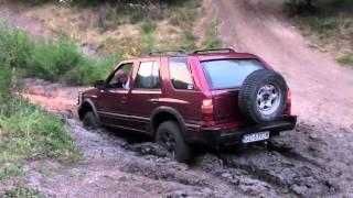 Opel frontera - Błoto