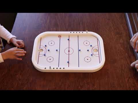 Across The Board Games-Penny Hockey How To Play