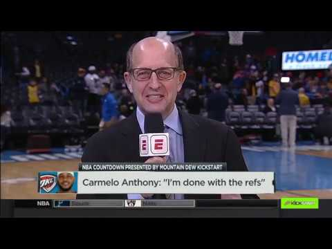 Jeff Van Gundy on Lakers record & players - refs relationship | NBA Countdown