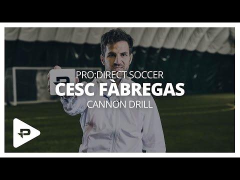 Cesc Fàbregas Cannon Challenge