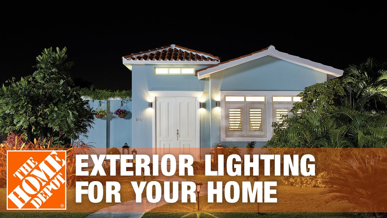 outdoor lighting ideas exterior lighting for your home the home depot