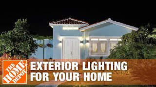 Gambar cover Outdoor Lighting Ideas | Exterior Lighting for Your Home | The Home Depot