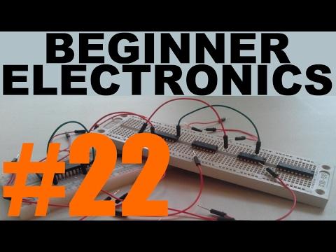 Beginner Electronics - 22 - NPN Transistors