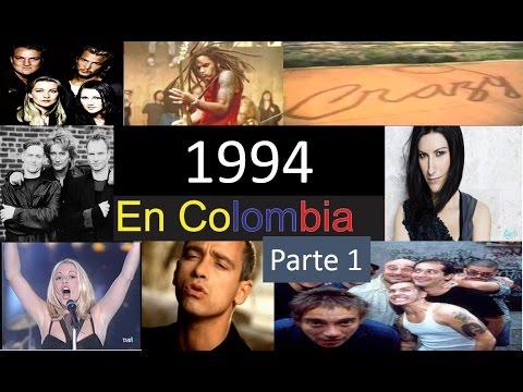 Top 100 mejores canciones de 1994 en Colombia Parte 1