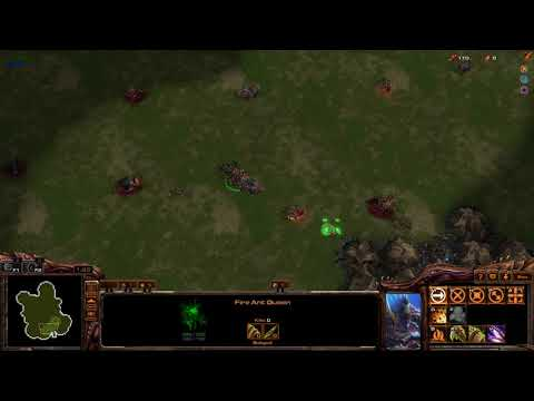 Starcraft 2 - Ant Colonies Tutorial How to Herding the Mobs / Sheeps / Pigs