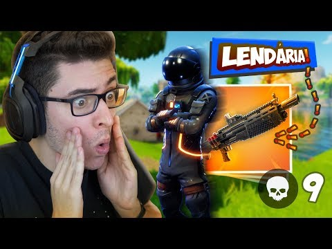 ENCONTREI A NOVA SHOTGUN LENDÁRIA!! Fortnite Battle Royale thumbnail