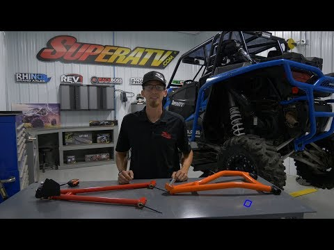 Fully Adjustable A-Arm Install - Camber Explained - SuperATV