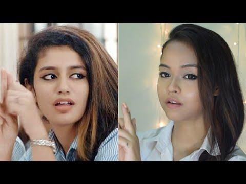 priya prakash varrier makeup tutorial  indian college