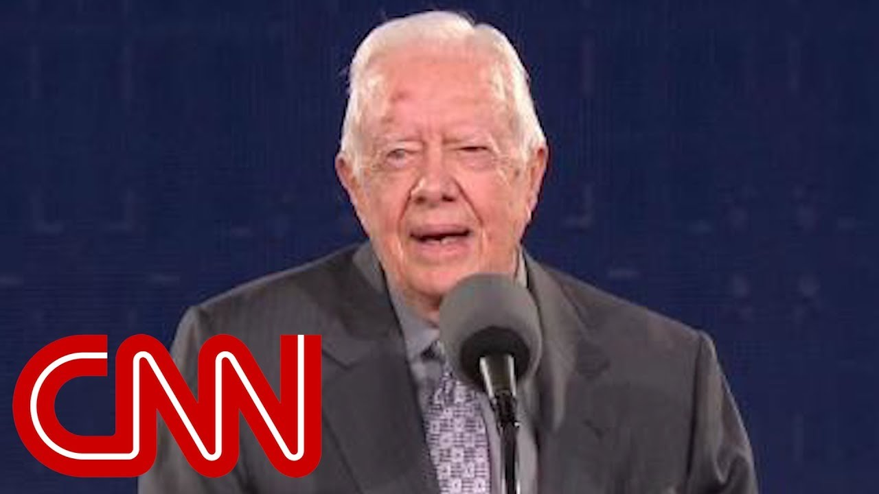 Jimmy Carter's subtle jab at Trump's crowd size