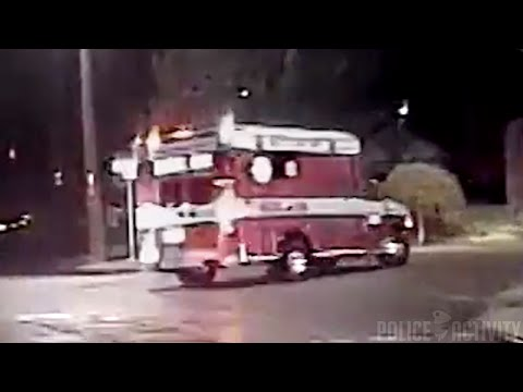 Dashcam Shows Seattle Police Chase Stolen Ambulance