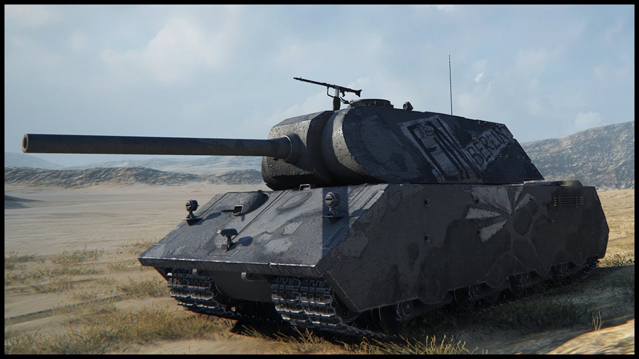 VK 168 01 Mauerbrecher • World of Tanks Gameplay
