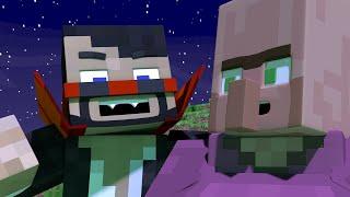 DRACULA MEETS MINECRAFT (Minecraft Animation)