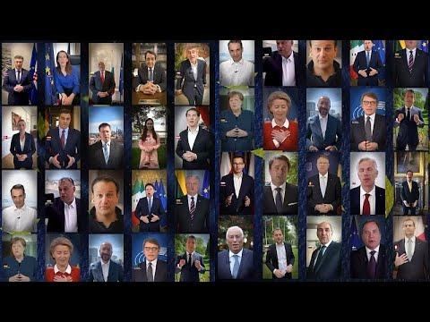 AB liderlerinden videolu 9 Mayıs Avrupa Günü mesajı