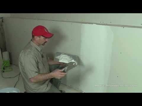 How To Mud & Tape Drywall Butt Joints