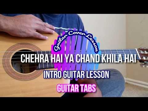 Chehra Hai Ya Chand Khila Hai | Saagar | Intro | Tabs | Guitar Lesson